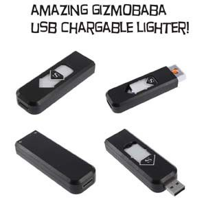 USB Rechargeable Electronic Cigarette Cigar Lighter Flameless