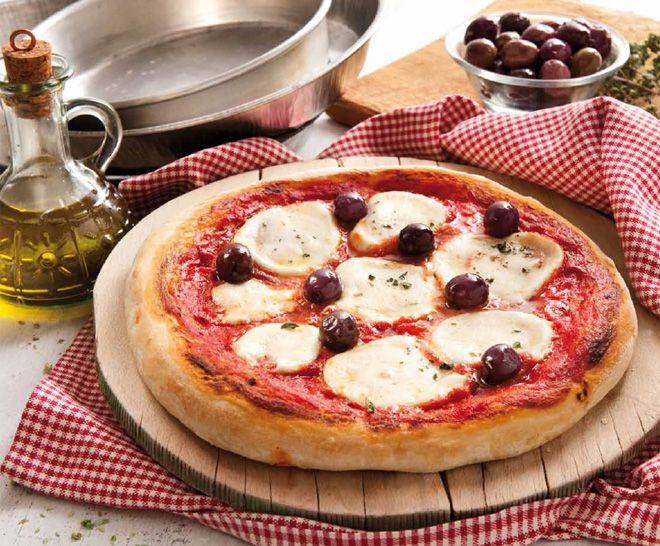 Pizza de Azeitonas Pretas