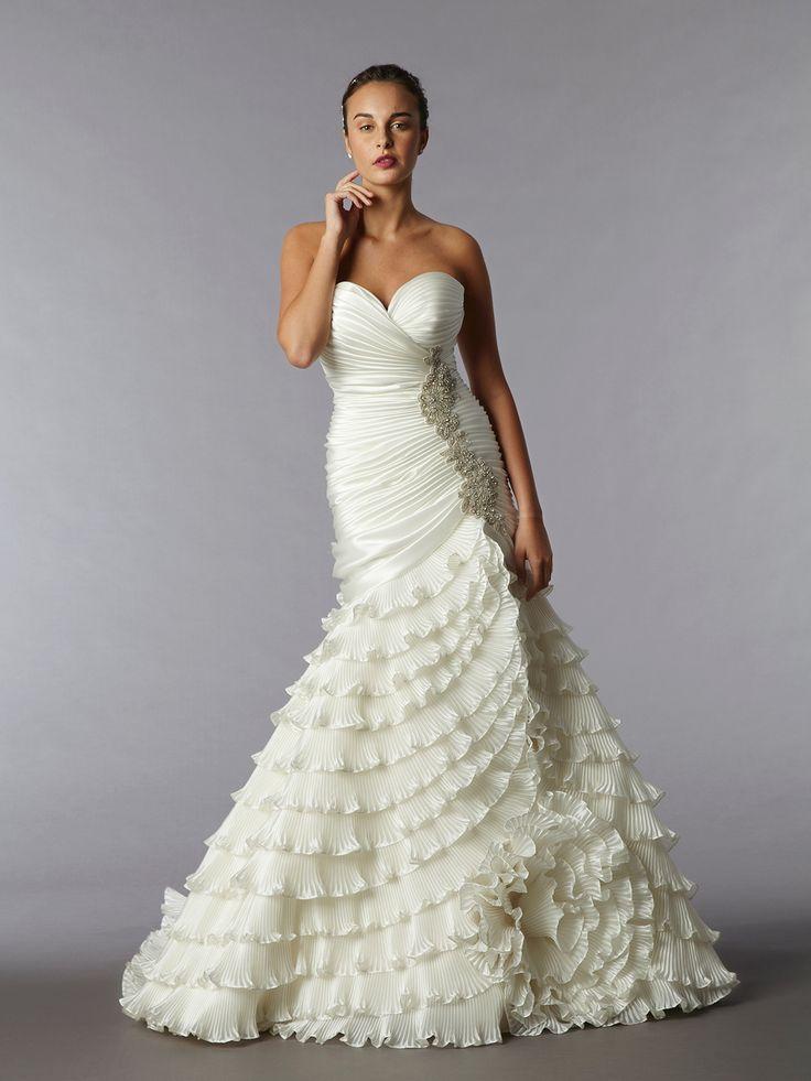 Mejores 54 imágenes de Pnina Tornai en Pinterest   Vestidos de novia ...