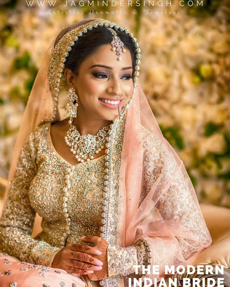 Bridal Portrait. Photo taken by: jagminder.singh. Hair & makeup done by: @sana_hairnmkup Video by Rolling Canvas.