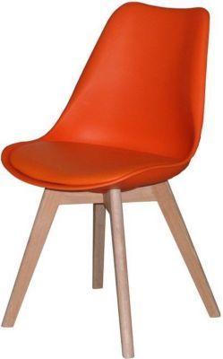 4 x Designerstuhl CHARLIE Esszimmerstühle Retro Stuhl Sitz Gruppe orange Eiche Jetzt bestellen unter: https://moebel.ladendirekt.de/kueche-und-esszimmer/stuehle-und-hocker/esszimmerstuehle/?uid=dab8c881-2e72-536d-9d63-1c5f9398216a&utm_source=pinterest&utm_medium=pin&utm_campaign=boards #kueche #esszimmerstuehle #esszimmer #eckbänke #hocker #stuehle Bild Quelle: plus.de