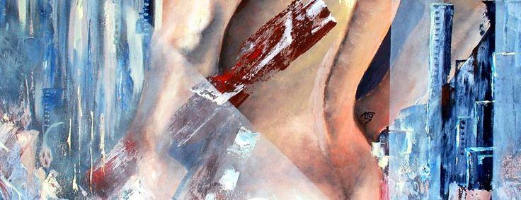 Artista expone obras en óleo, acrílico y otras técnicas, Cecilia Ocaranza