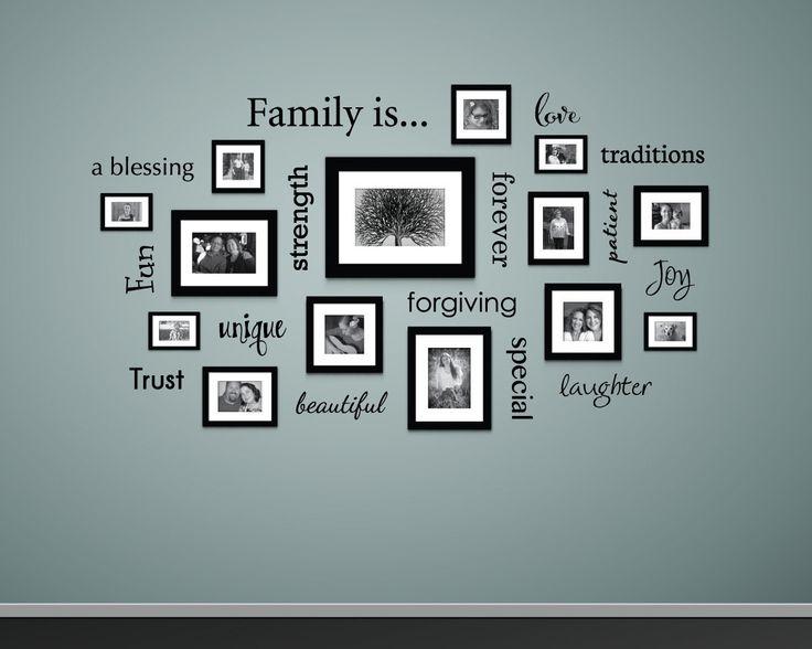 17 Of 2017 39 S Best Family Wall Decor Ideas On Pinterest