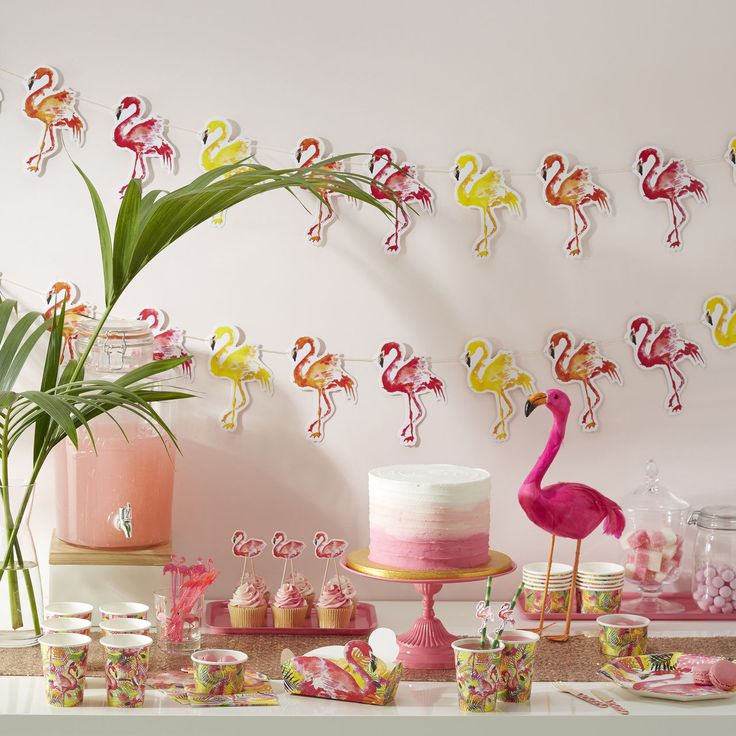 Les 25 meilleures id es de la cat gorie f te de flamant for Deco flamant rose