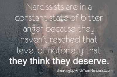 Narcissists are bitter/angry. They will use others to gather information on those who chose not to worship them.
