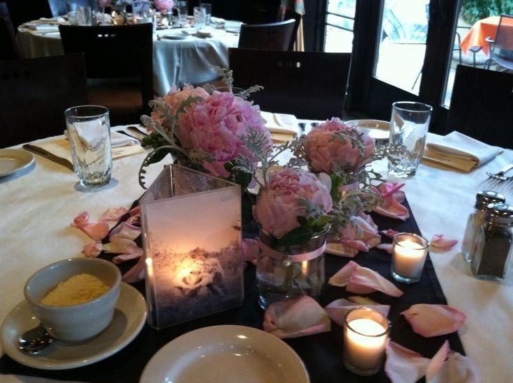 Rehearsal Dinner Centerpieces Parties Showers Wedding