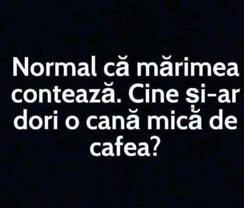 Cana mica de cafea?!
