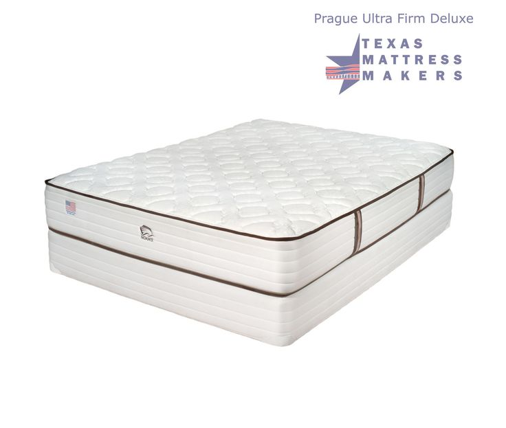 Texas Mattress Makers Prague Ultra Firm Deluxe Mattress