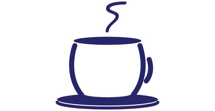 Señal para la cafetería