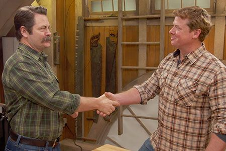 Actor and woodworker Nick Offerman shares with Ask This Old House host Kevin O'Connor where his love of woodworking began and offers advice for young people who want to work with their hands.