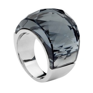 Pastiche Black Crystal Ring