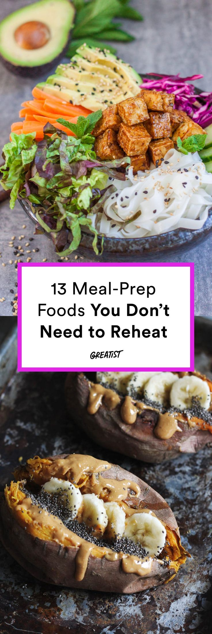 Because there's always a line for the office microwave. #greatist http://greatist.com/eat/meal-prep-foods-you-dont-need-to-reheat
