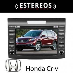 Estereo Multimedia Con Navegador Satelital Honda Crv Linea Nueva