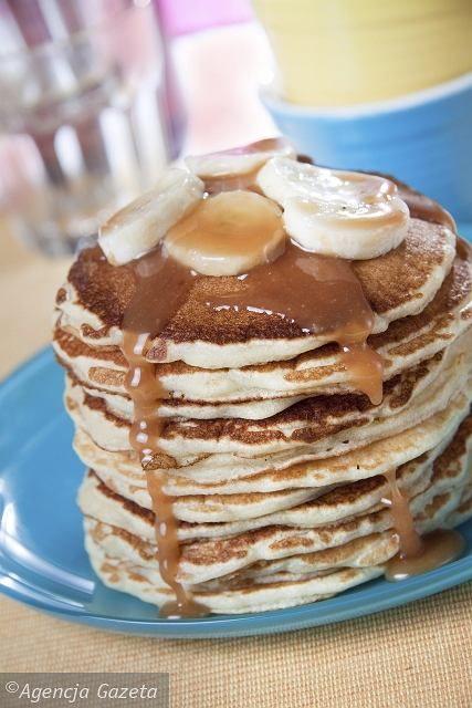 Pancakes z bananami
