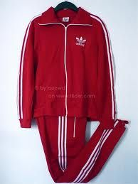 Six Million Dollar Costume Idea Red Adidas Tracksuit
