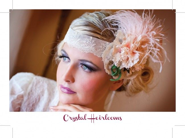 Crystal Heirlooms Steal The Show With Picture Perfect Postcards http://blog.solopress.com/case-study/crystal-heirlooms-steal-the-wedding-show-picture-perfect-postcards/ #wedding #tiara