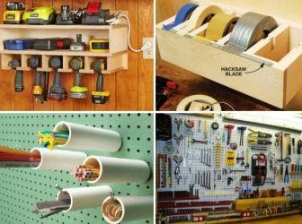 (+1) тема - 18 способов навести идеальный порядок в гараже или сарае | 6 соток