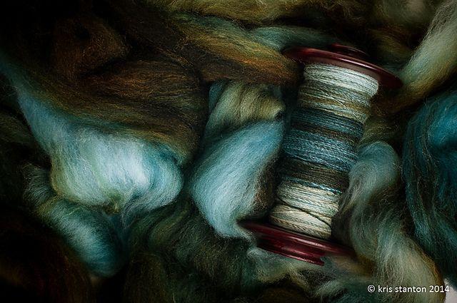 All Spun Up merino/silk Handspun ~ BockstarKnits via Ravelry