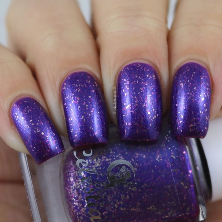 Celestial Cosmetics The Hungry Mile swatched by Olivia Jade Nails