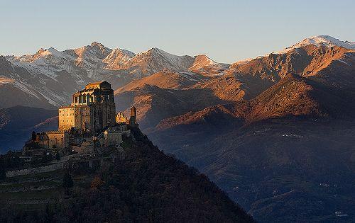 Sacra San Michele, Piedmont, North-western Italy