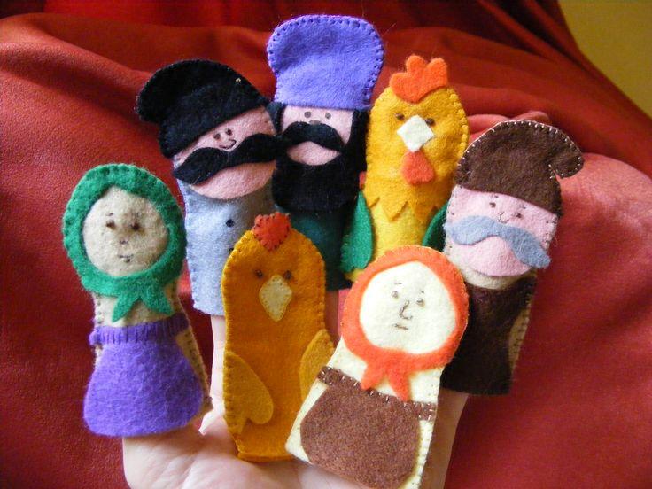 Punguta cu doi bani (The Little Purse with two Half-pennies) - Romanian story - Handmade by TLC