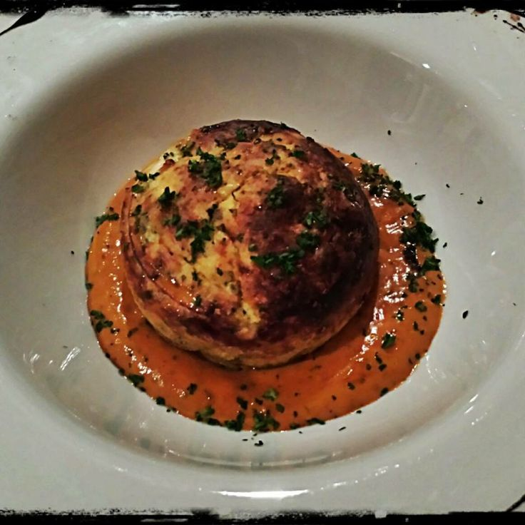 Suburban #French at La Provence - Prawn #Soufflé with #Pastis Bisque.