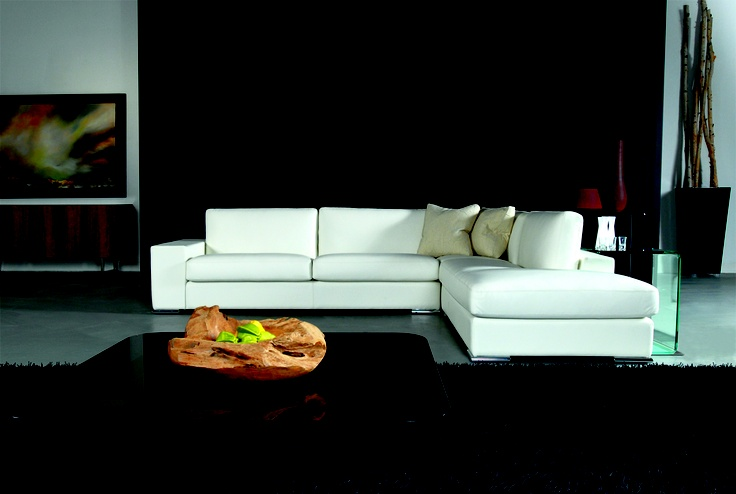 Mephisto sofa made in Canada by Selene Manufacturing.  Available in many different configurations, it can be upholstered in your choice of leather or fabric. Products available through Selene. www.selenefurniture.com