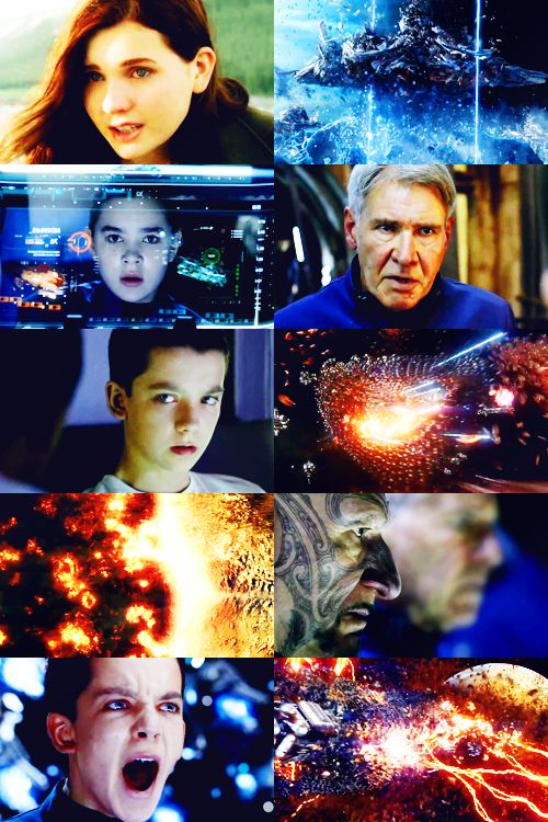 Ender's Game. This is such an emotional, challenging story to read/watch. Love it.