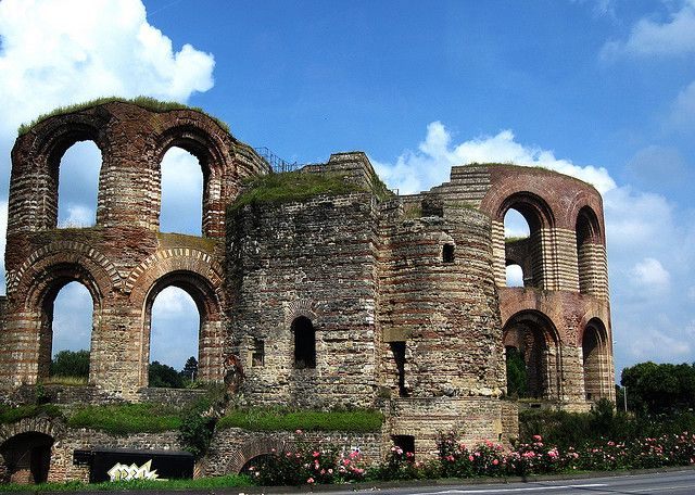 Trier, Germany Roman baths...Trier was once the capital of the Roman Empire. It is the oldest city in Germany.