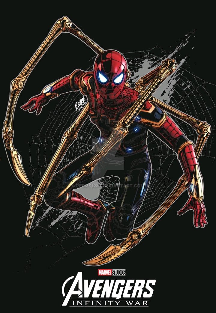Iron Spider Man Avengers Infinity War With Images Marvel