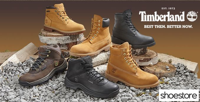 Get Timberland shoes starting from £54.95 at Shoestore.j.mp/Shoe_Offers #shoes #shoestore #timberland #sales