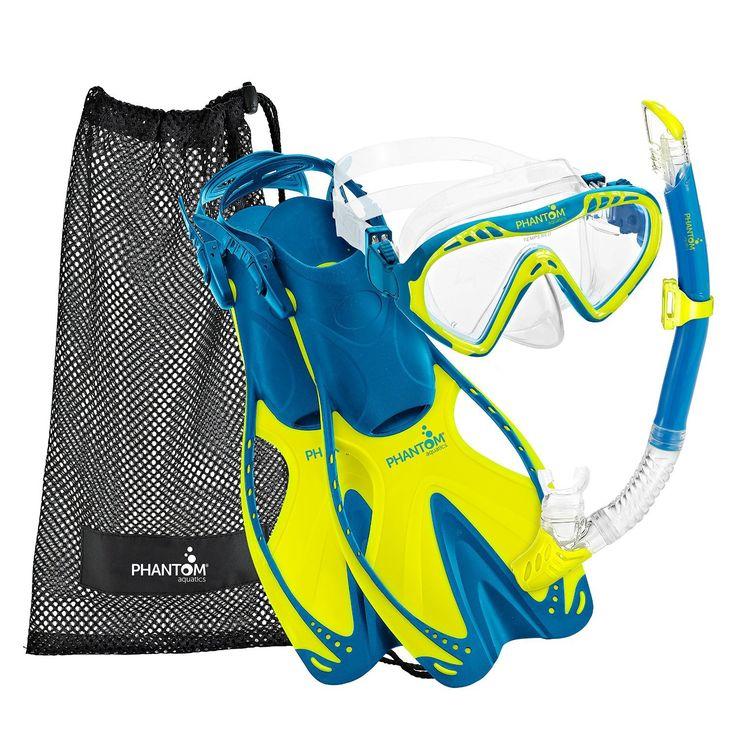 Phantom Aquatics Speed Sport Snorkel Set
