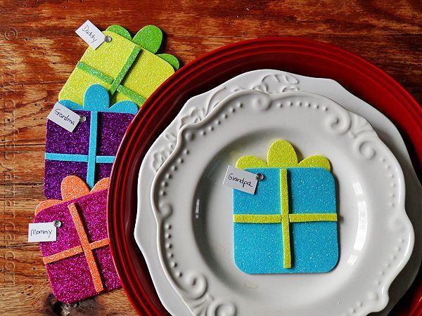 Christmas Gift Place Holders - CraftsbyAmanda.com