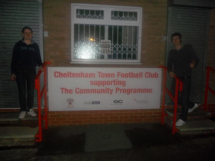 Cheltenham Town FC: Abbey Business Stadium (Whaddon Road)