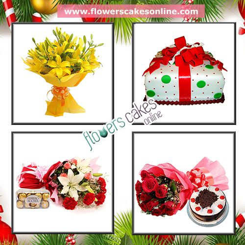 Enjoy Christmas festival with us. Send Christmas gift to your love ones, relatives & children. #FlowersCakesOnline #Christmas