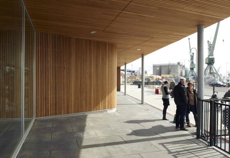 Terminal in Ven / FOJAB arkitekter