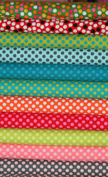 Fabric Bundle Ta dot Michael Miller 1 fat by EuroGirlsBoutique, $26.40