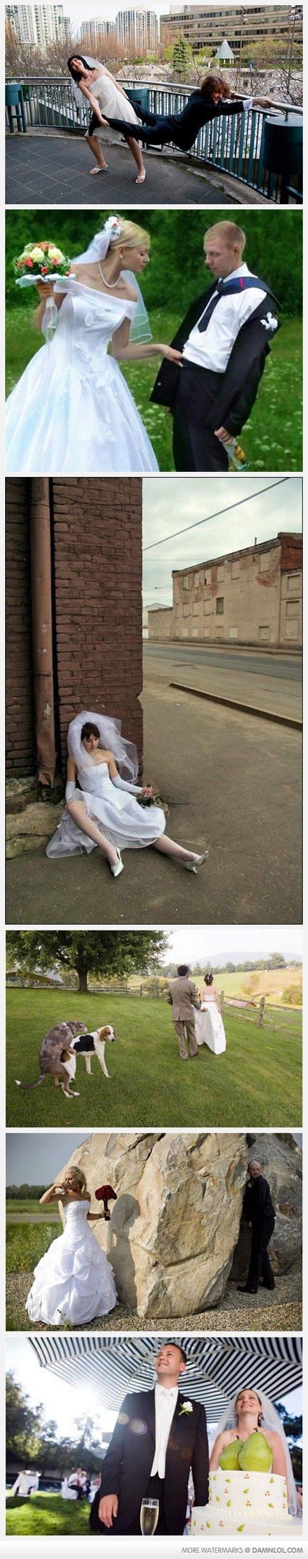 Wedding photo fails 1