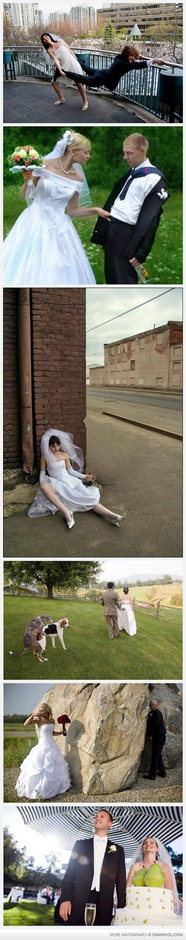 Funny wedding pictures (also on the two previous posts.)