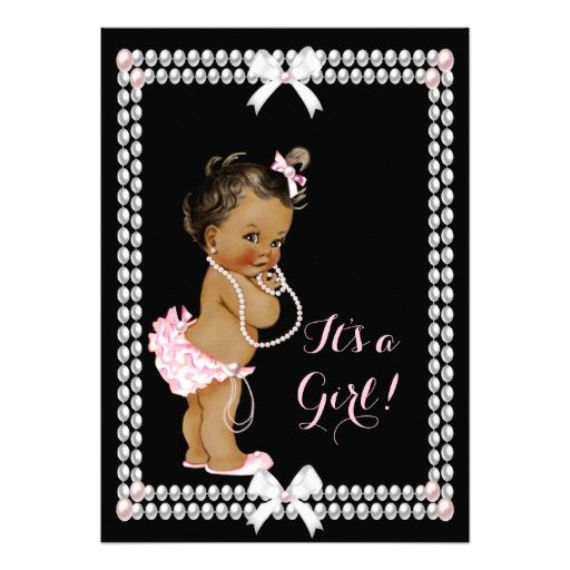 1873 best images about girl baby shower invitations on pinterest, Baby shower invitations