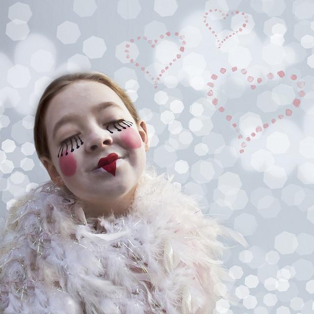Extreme circus makeup. :)