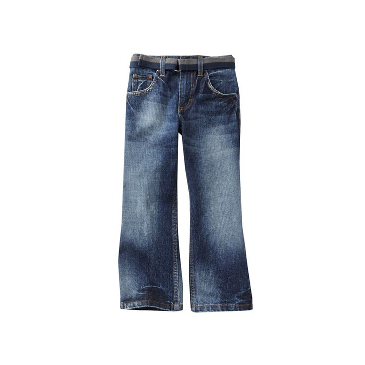 Boys 4-7x Lee Dungarees Relaxed Bootcut Jeans, Boy's, Size: 7X Slim, Blue