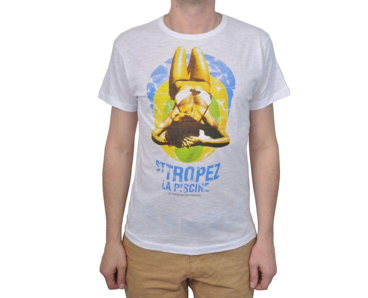 """Ανδρική Μπλούζα T-Shirt """"Rantom"""" Λευκό 100% Βαμβάκι"""