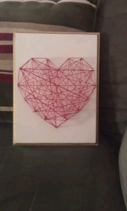 diy string heart 73 best string art images on pinterest creative diy nails and