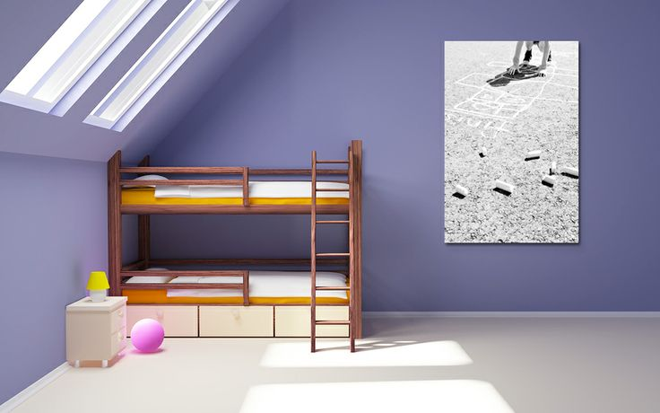 """A Children's Themed Canvas Print 