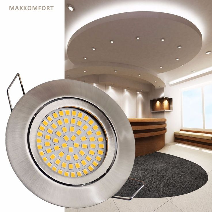 LED Einbaustrahler FLACH Einbauspot Einbau-Leuchte 3,5W Spot Deckeneinbaulampe in Heimwerker, Lampen & Licht, Einbauleuchten | eBay!