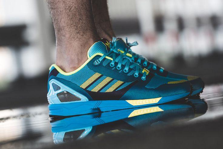 Adidas Zx Flux Weave Aqua