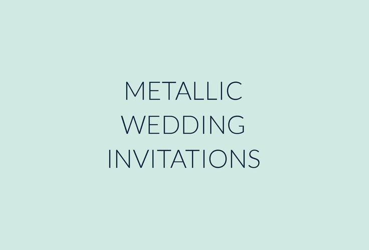 Metallic wedding invitations   Gold wedding stationery   Copper Wedding Stationery   Bronze wedding stationery