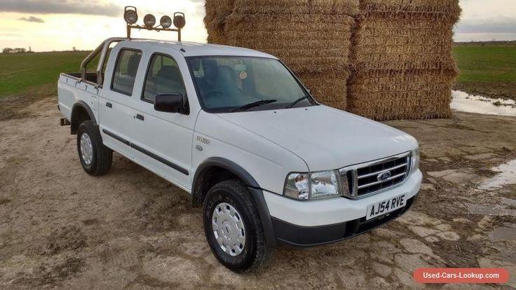 Ford Ranger Crew Cab 2005 #ford #ranger #forsale #unitedkingdom