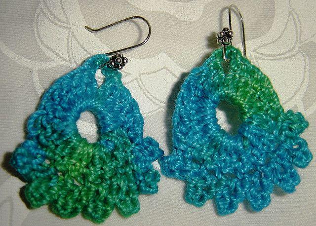 Ravelry: Dainty Earrings pattern by Julie A. Bolduc